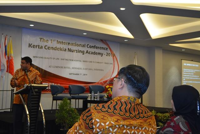 THE 1ST INTERNATIONAL CONFERENCE KERTA CENDEKIA NURSING ACADEMY INDONESIA